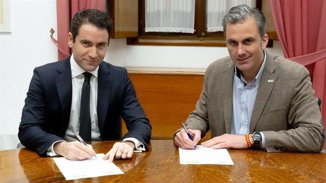 Vox apoyará al PP para que Moreno sea presidente de la Junta de Andalucía