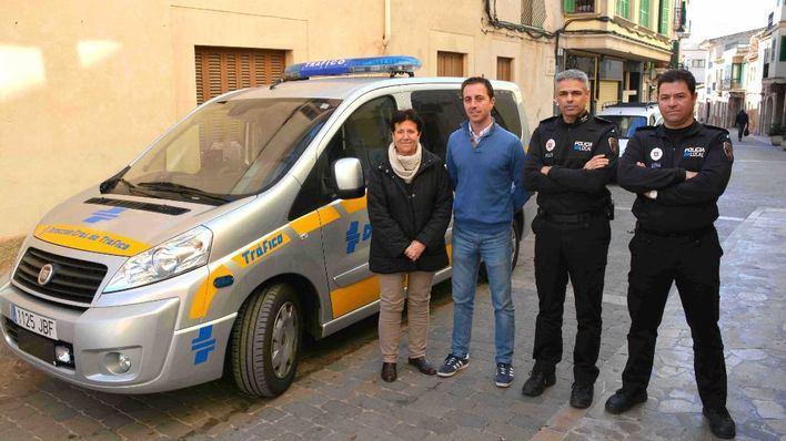 Santanyí recibe un nuevo radar para controlar la velocidad dentro del municipio