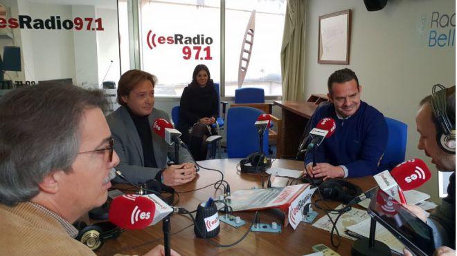 Gabriel Torrens sienta a PP, Cs y Vox en su nueva tertulia en esRadio