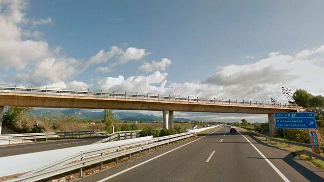 Cierra por obras un tramo de la autopista de Inca la noche del domingo al lunes