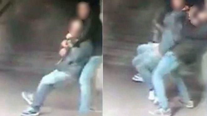 Imagen de archivo de una agresión con 'mataleón'
