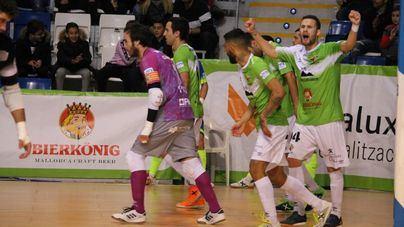 El Palma Futsal acecha la tercera plaza tras ganar al Industrias Santa Coloma