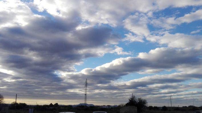 Cielo de Inca este sábado, de Francisco Seguí