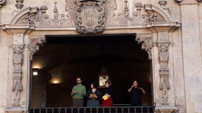 El pregón de tres actores de la serie 'Mai Neva a Ciutat' de IB3