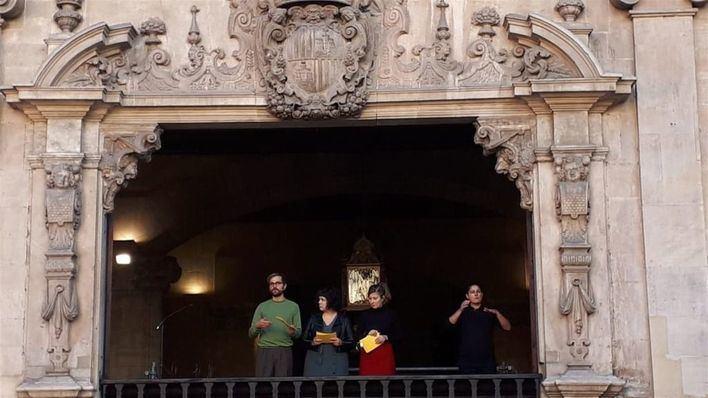 Palma arranca las fiestas de Sant Sebastià 2019 con un pregón satírico y reivindicativo