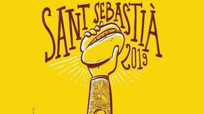 Actua-Vox considera 'ofensivo' el cartel de las fiestas de Sant Sebastià
