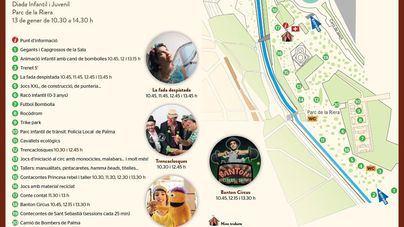 El parque de Sa Riera acoge este domingo la diada infantil 'Sant Sebastià Petit'