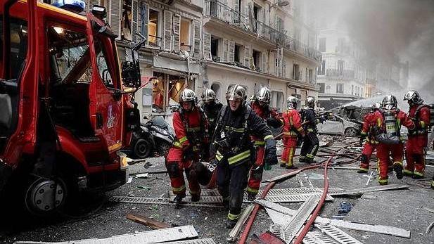 Fallece una española en una explosión de gas en el centro de París
