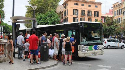 Palma lidera el aumento de usuarios de la EMT en España