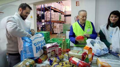 Banco de Alimentos recoge 115.000 kilos de comida para familias pobres