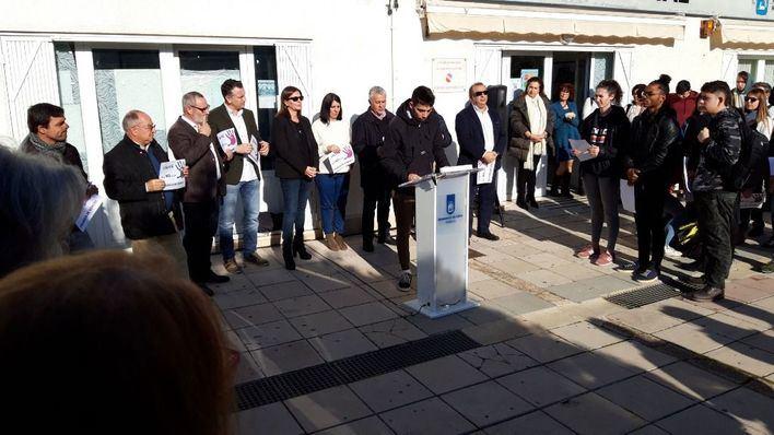 Calvià se manifiesta contra la violencia de género