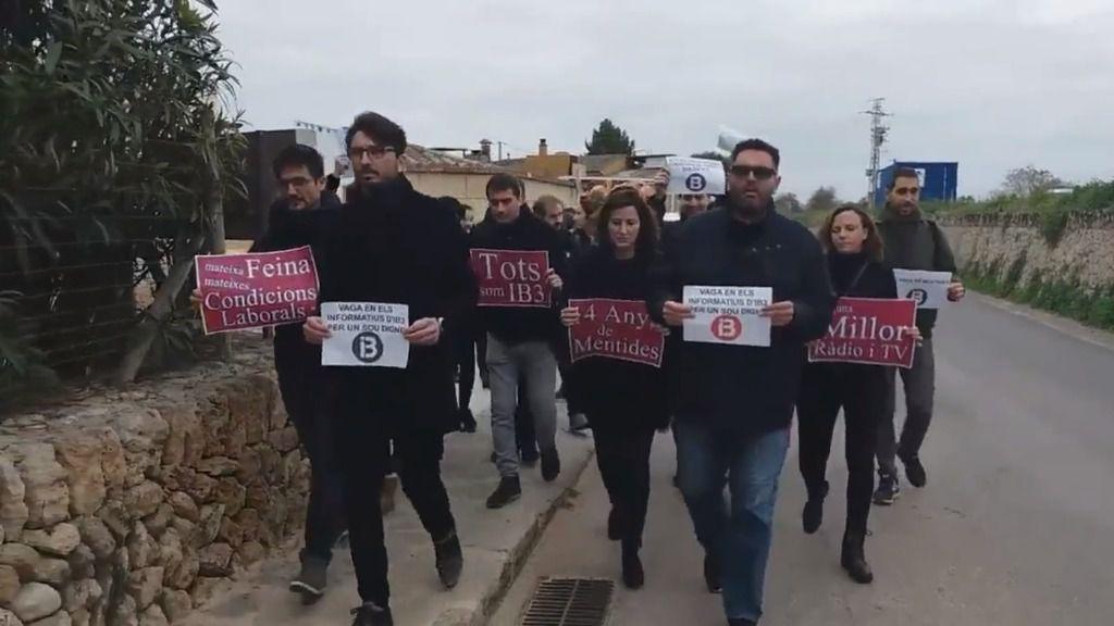 IB3 modifica su programación por la huelga de periodistas