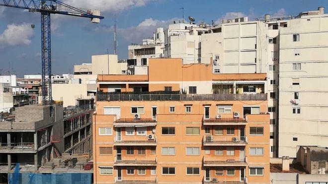 La construcción de viviendas plurifamiliares en Mallorca creció un 18 por ciento en 2018
