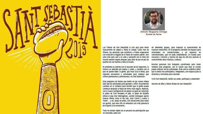 Cort se disculpa y publicará en castellano el programa de Sant Sebastià,