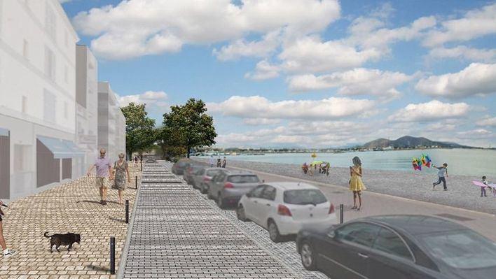 El Paseo Marítimo de Alcúdia será peatonal hasta el Puerto Comercial