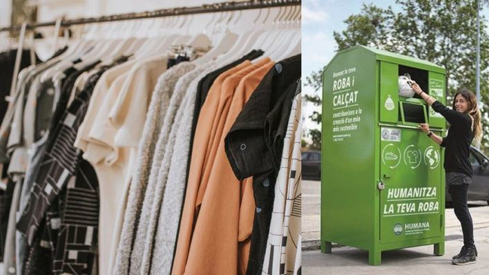 Recuperan 329 toneladas de ropa usada en Baleares con fines sociales