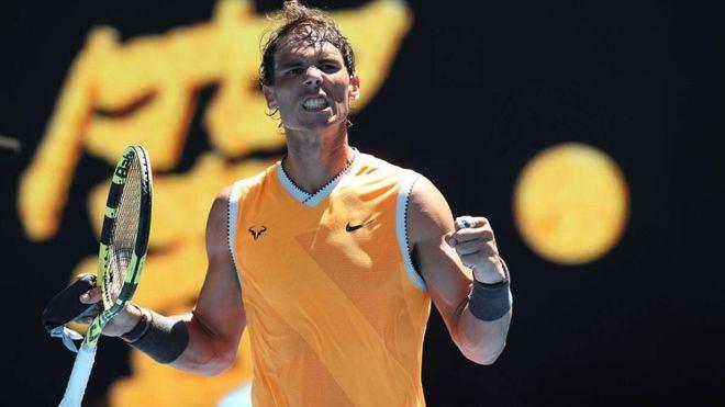 Nadal fulmina a Ebden y jugará la tercera ronda contra De Miñaur