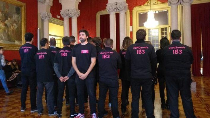 SPIB y UGT, con los profesionales de IB3 en huelga