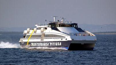 Un buque de alta velocidad cubrirá Ibiza-Formentera en 25 minutos