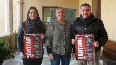 Andratx presenta los actos de Sant Antoni 2019