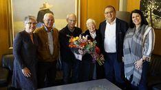 Calvià homenajea a una vecina centenaria de Costa de la Calma