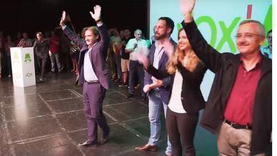 El partido de Jorge Campos renuncia a la marca Actúa y se presentará como Vox Baleares
