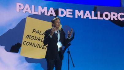 Mateo Isern asegura que 'convertirá Palma en una ciudad amable y equilibrada'