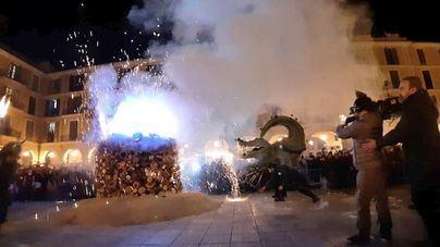Más de 30.000 personas disfrutaron de la 'Revetla' de Sant Sebastià de Palma
