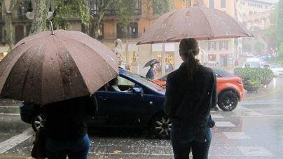 Activada la alerta amarilla este domingo por lluvias, fuertes vientos y fenómenos costeros en Baleares