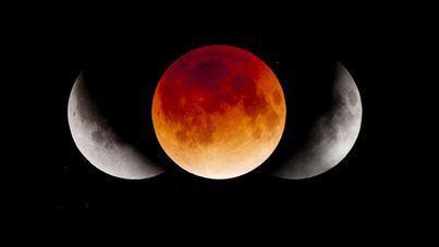 Esta madrugada no te olvides mirar al cielo, hay un eclipse total de luna