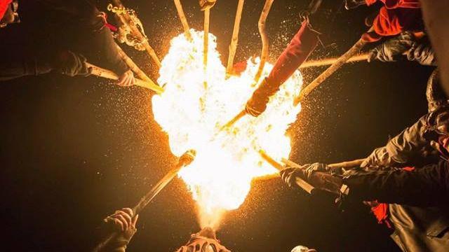 Seis 'colles de dimonis' y 450 personas participarán en el Correfoc de Sant Sebastià