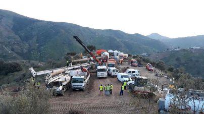 El rescate de Julen avanza y los mineros se preparan para actuar