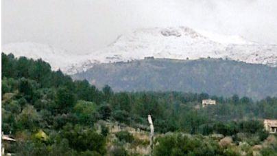 Hoy, nieve a 800 metros y descenso del termómetro en Mallorca