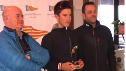 Pep Estrany y Naiara Fernández campeones del Trofeo Illes Balears de Bic Techno 293