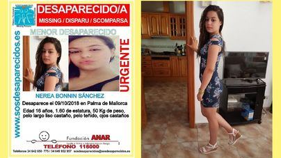 Dos meses sin resultado en la búsqueda de Nerea Bonnín, desaparecida en Palma