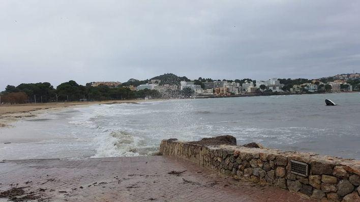Baleares en alerta por fuertes rachas de viento