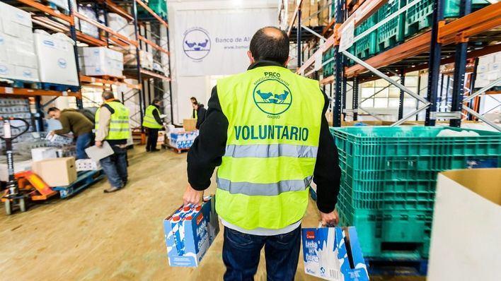 El Banco de Alimentos de Mallorca recoge 115 kilos de comida