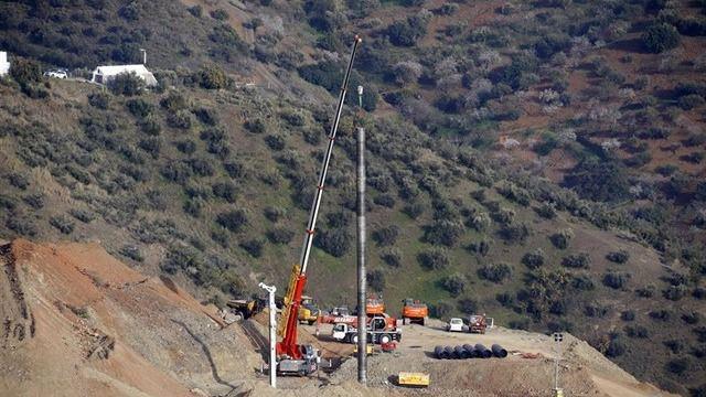Comienza el despliegue de la brigada de mineros para rescatar a Julen