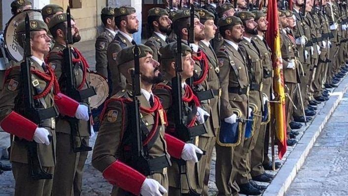 El Ejército lucirá el uniforme de 1782 en el próximo cambio de guardia en Palma