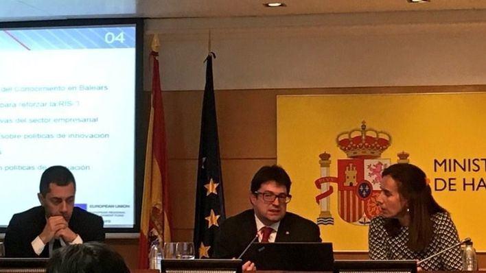 Baleares defiende sus políticas de fomento de innovación en Madrid