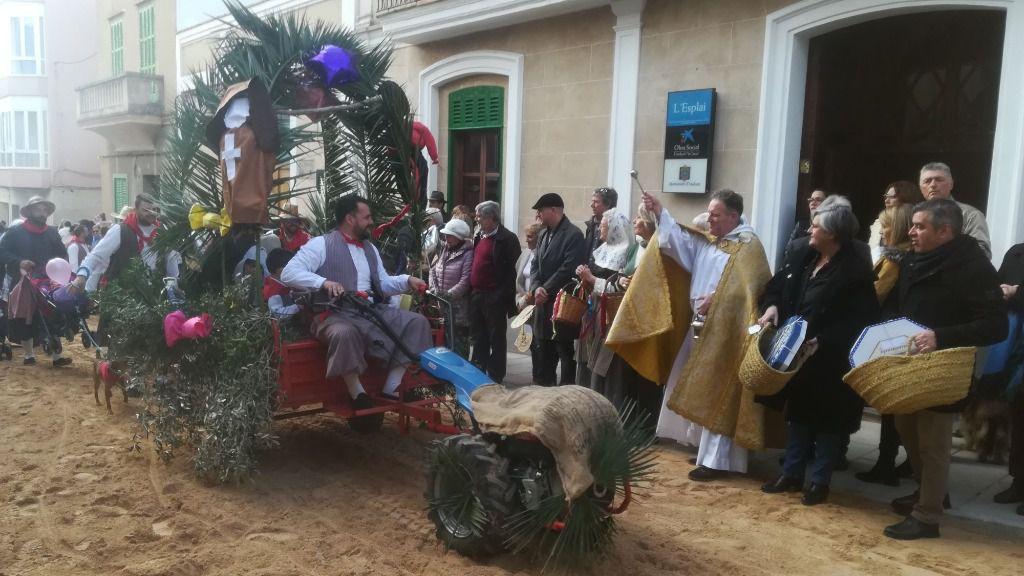 Andratx continúa celebrando Sant Antoni este fin de semana