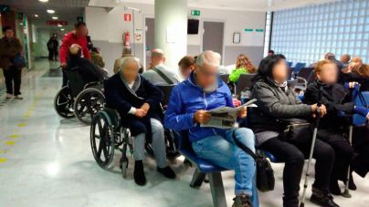 Las urgencias de Baleares atienden 2.422 casos de gripe, 806 más que la semana pasada