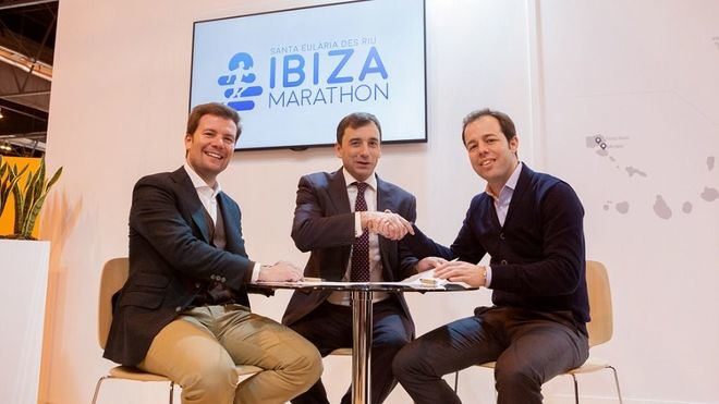 Trasmediterránea renueva su compromiso con el Ibiza Marathon hasta 2021