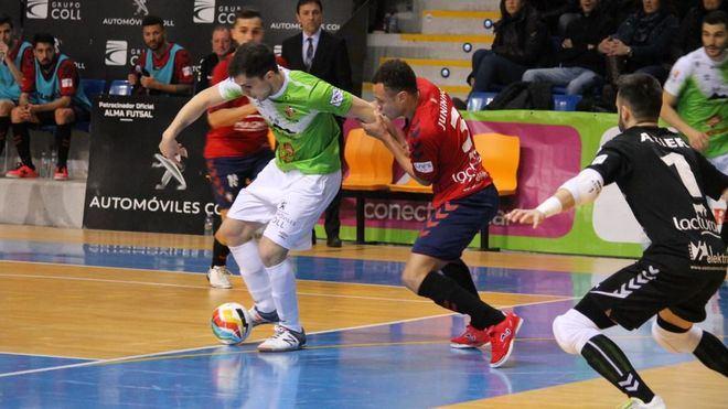 El Palma Futsal pierde en un partidazo ante Osasuna Magna (2-3)