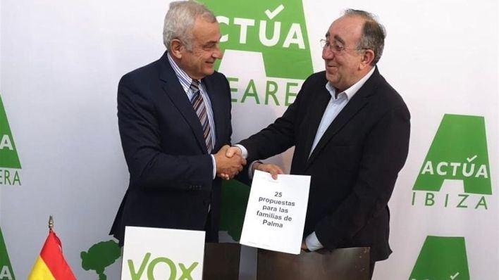 Vox Baleares promete una 'concejalía de familia' en Cort si gana las elecciones