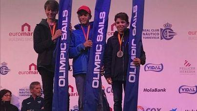 Marc Mesquida, tercero en el Trofeo Internacional de Optimist de Torrevieja