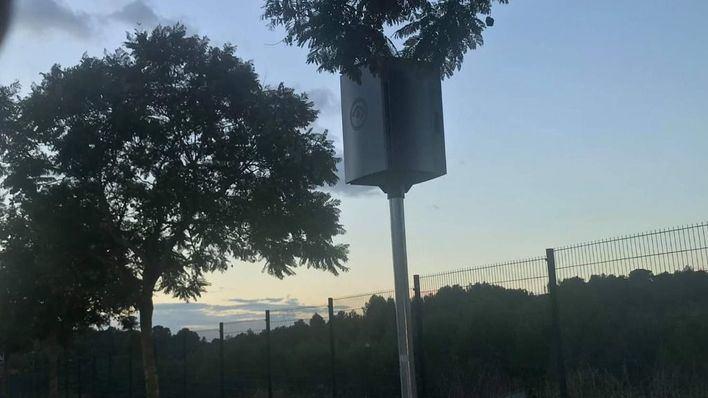 Cort colocará de nuevo el radar derribado frente al golf de Son Muntaner