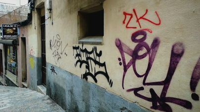 Palma, inundada de graffitis