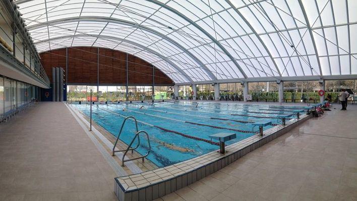 Abierta al público la piscina cubierta del Príncipes de España