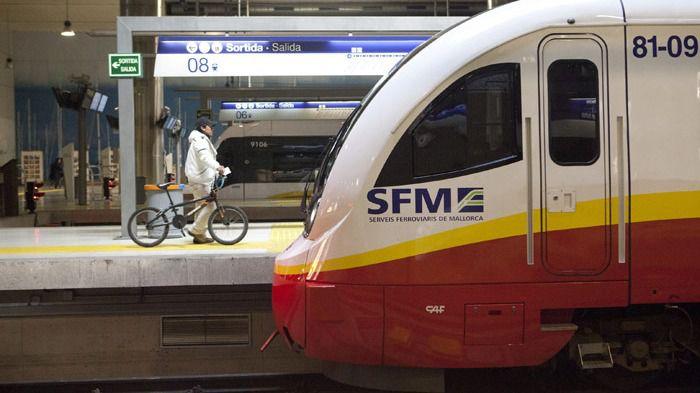 La estación de Enllaç será una parada más del tren de Sa Pobla